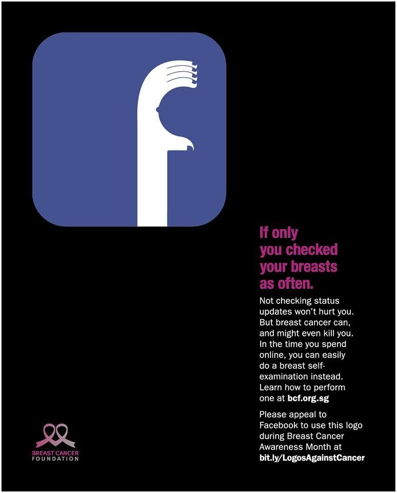 Breast Cancer Foundation: Facebook | http://www.gutewerbung.net/breast-cancer-foundation-facebook/ #Advertising