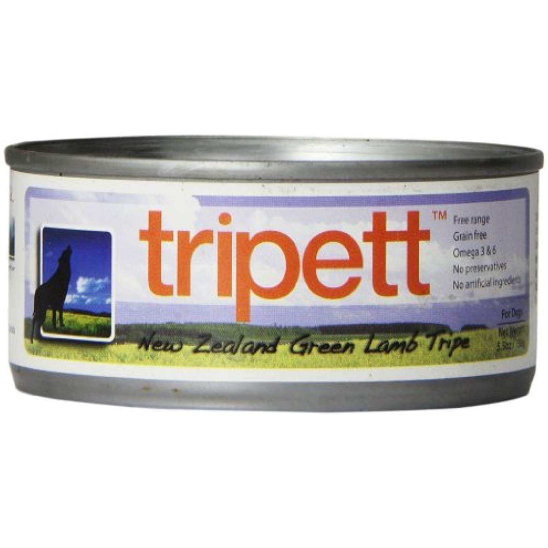 petkind 328024 tripett new zealand green lamb tripe for