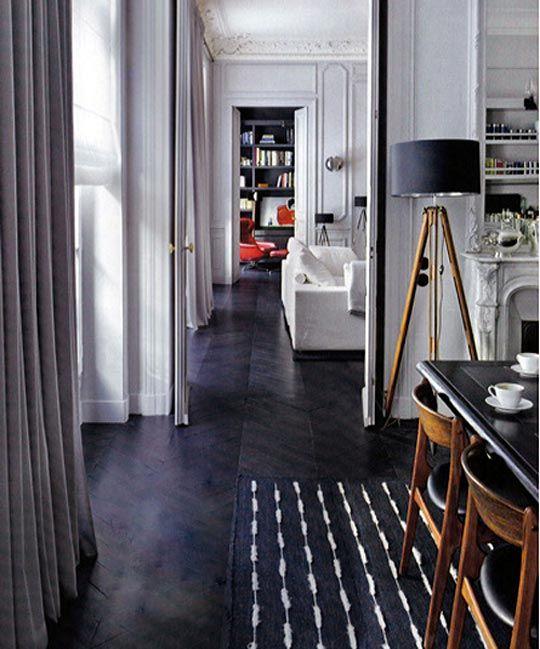 Floor Show Ebonized Dark Wood Floors
