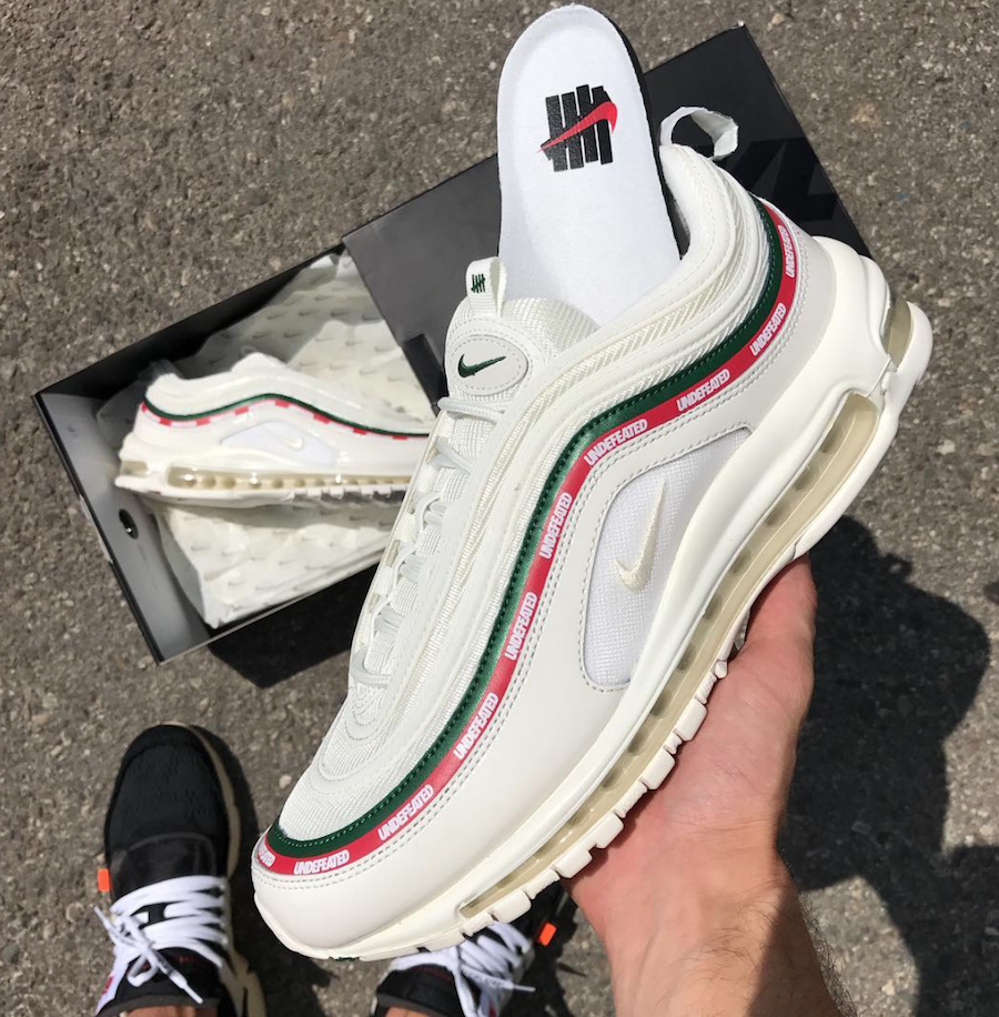738e96cbaa An On-Hand Look At The Undefeated x Nike Air Max 97 White https: