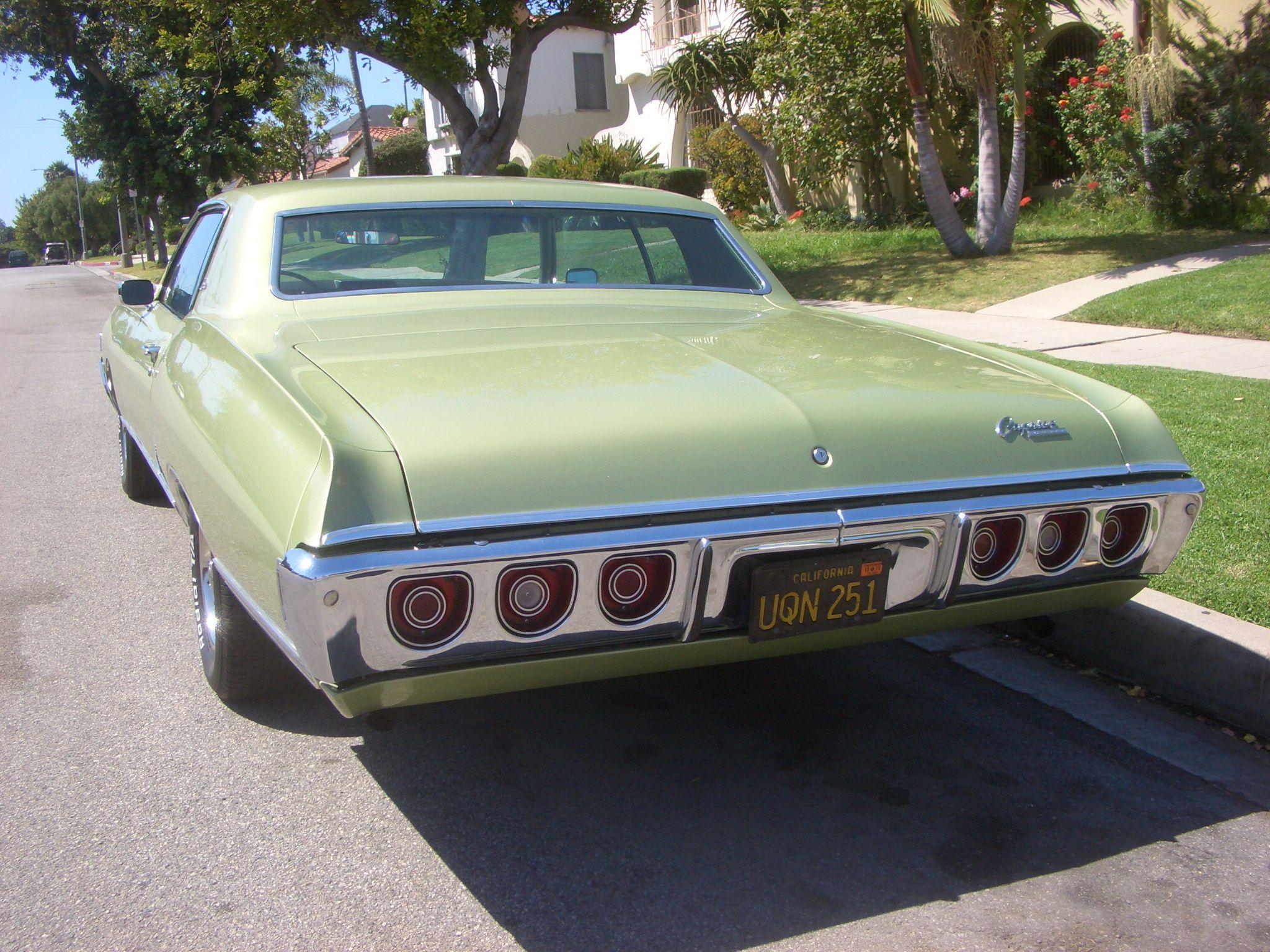 68 Caprice Chevrolet Impala Chevy Chevrolet