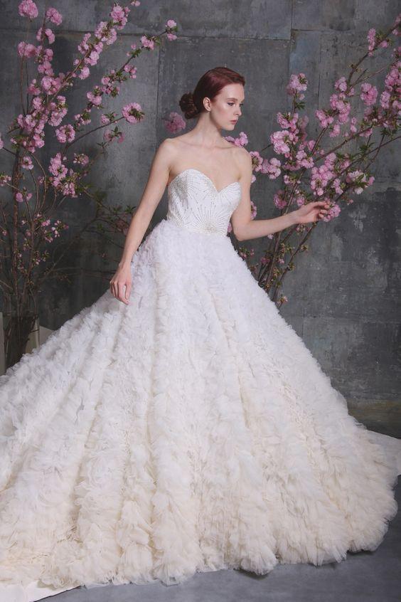 Wedding Dress Inspiration - Christian Siriano | Christian siriano ...