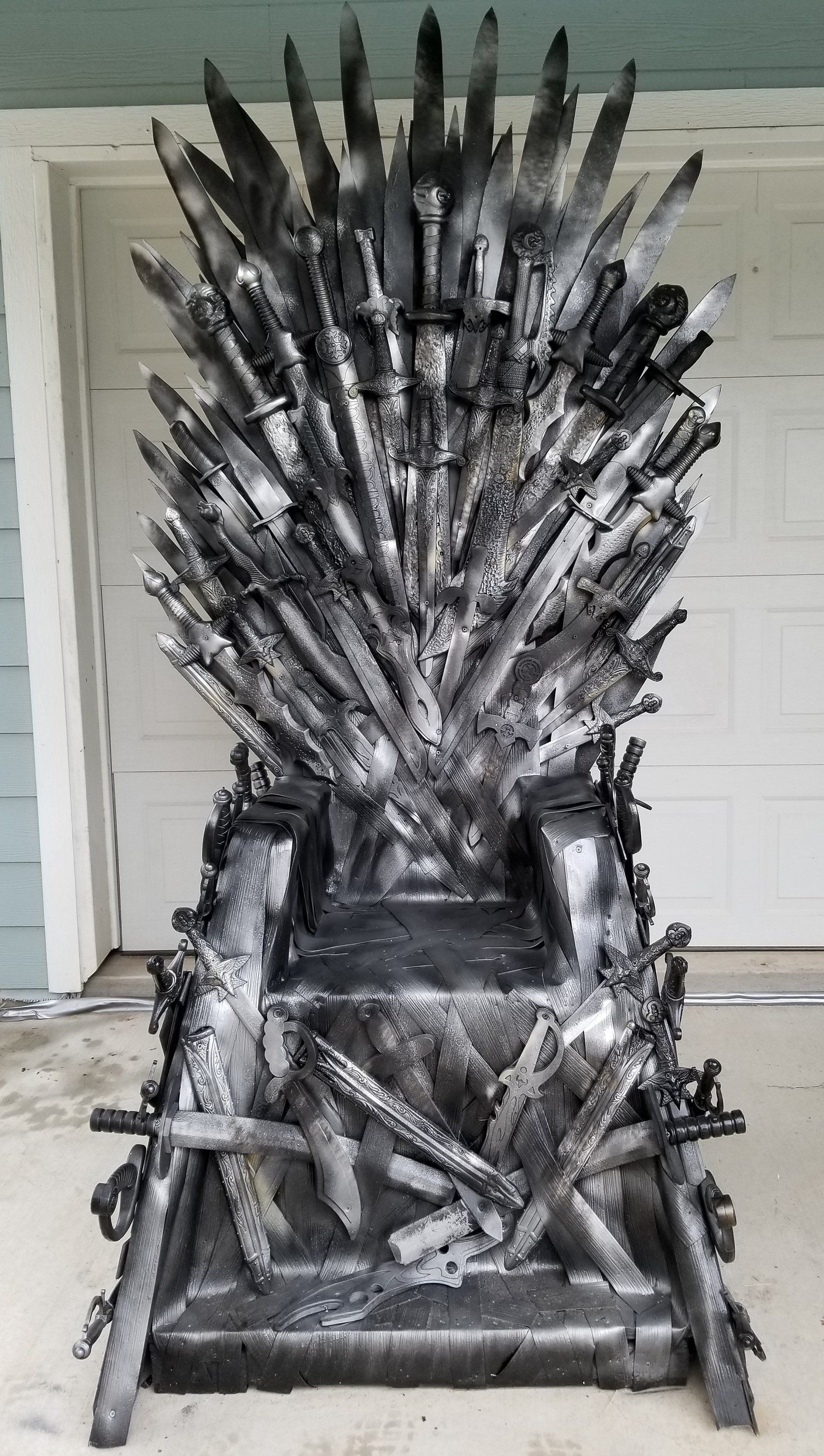 Iron Throne Game Of Thrones Chair Life Size Replica Handmade