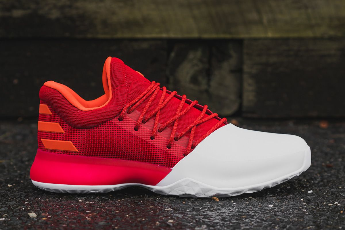 9e52fbb80ab9 adidas Harden Vol. 1 Made for Houston Rockets  Home Games - EU Kicks  Sneaker Magazine
