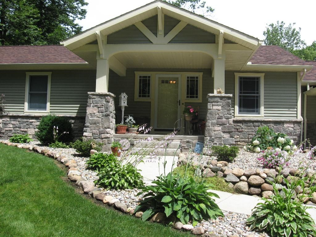 Purple Rose Of Sharon Front Porch Ideas House With Porch