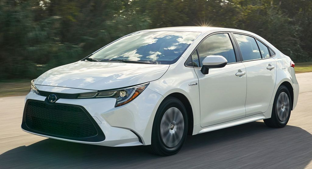 2020 Toyota Corolla Hybrid Sedan Arrives In La With An Estimated 50 Mpg Toyota Corolla Toyota New Corolla