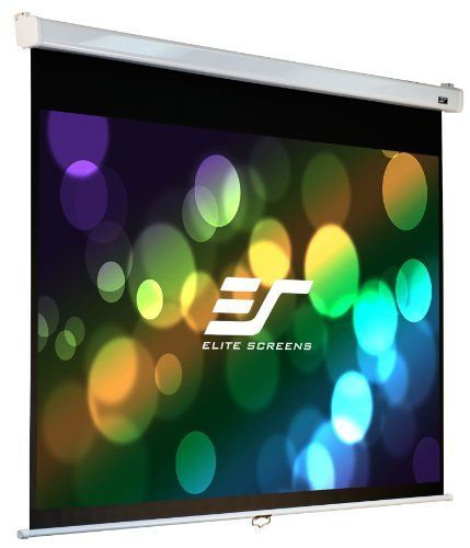 Elite Screens M120hsr Pro Manual Srm Pro Projection Screen 120 Inch 16 9 Ar By Elite Screens In Projection Screen Pull Down Projector Screen Projector Screen