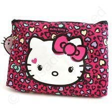 26ce26ce051f Hello Kitty Sweet Leopard Wash bag NEW 22530