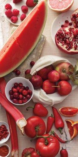 Red Foods Are Rich In Resveratrol Capsaicin Lycopene Drinks Receitas Fotografia De Alimentos Ser Saudavel