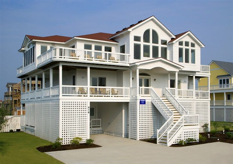 Twiddy Outer Banks Vacation Home Chillin 39 The Most Corolla Semi Oceanfront 10 Bedrooms