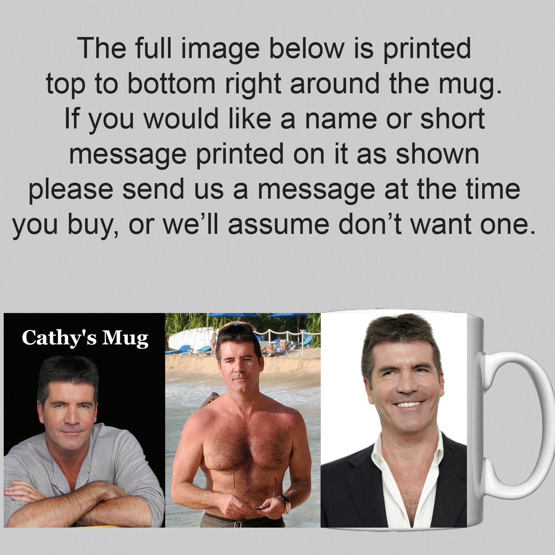 Simon Cowell Personalised Mug / Cup Epic Humor