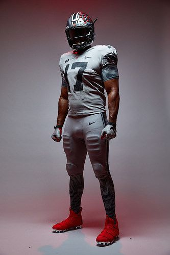 Here Are More Photos Of Ohio State S Gray Alternate Uniforms That The Team Will Wear Against Penn State Ohio State Ohio State Football Ohio State Buckeyes
