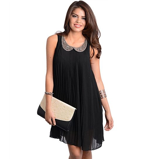 Women's Sheer Black Dress...great for the holidays!