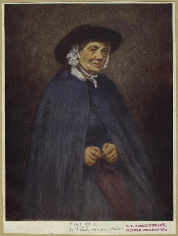 A Welsh woman, Wales