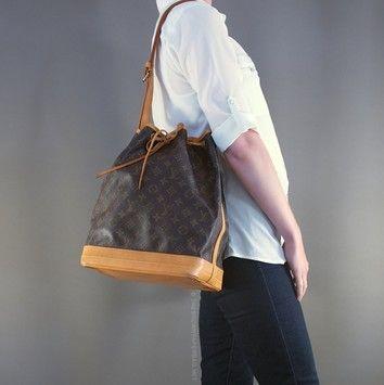 Louis Vuitton Noe Gm France Free Fast Ship Brown Monogram Shoulder Bag Louis Vuitton New Bags Louis Vuitton Shoulder Bag Bags