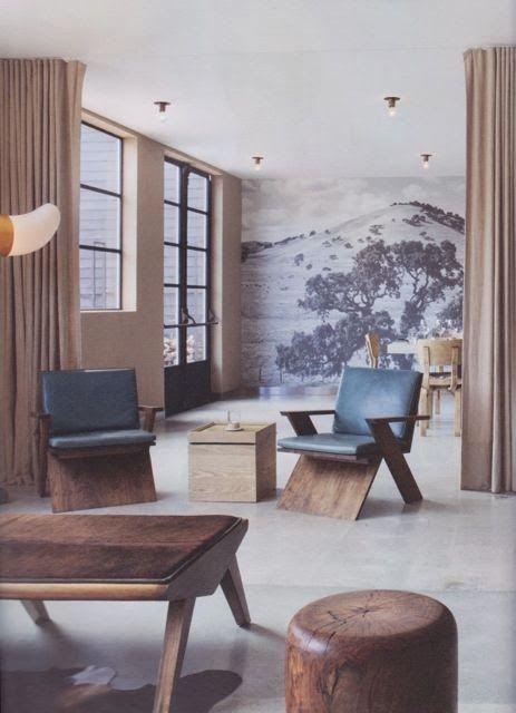 PLANE Furniture In Situ At Farmshop Restaurant Marin California Design By Commune