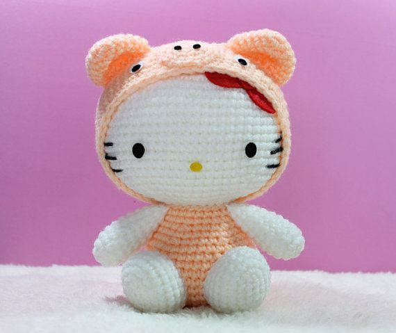 Hello Kitty [Free Crochet Pattern] | Styles Idea | 479x570