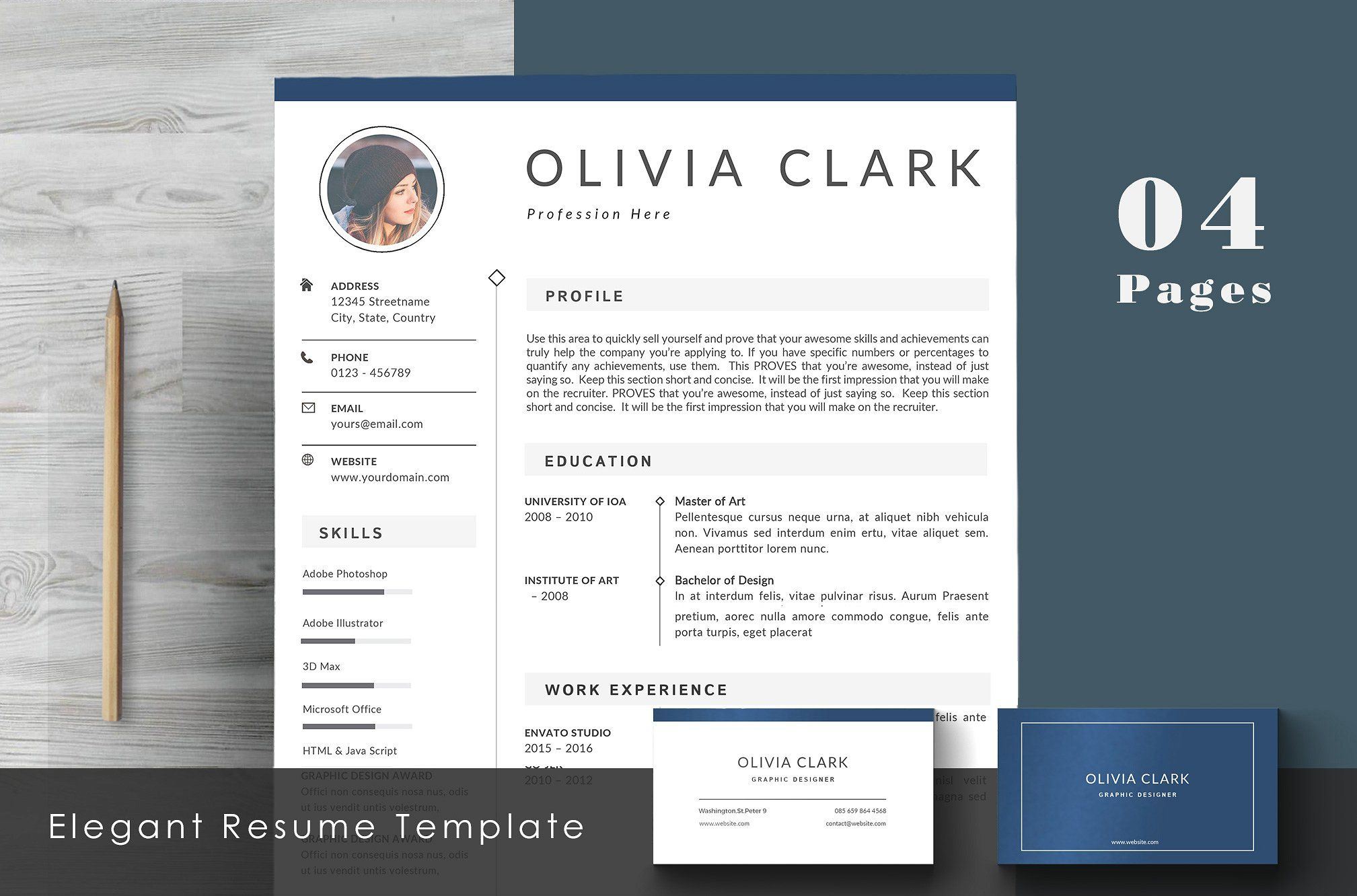 Clean Resume Template Cv Top 100 Resume Templates Pinterest