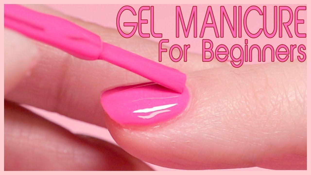 How to apply gel polish step by step youtube gel