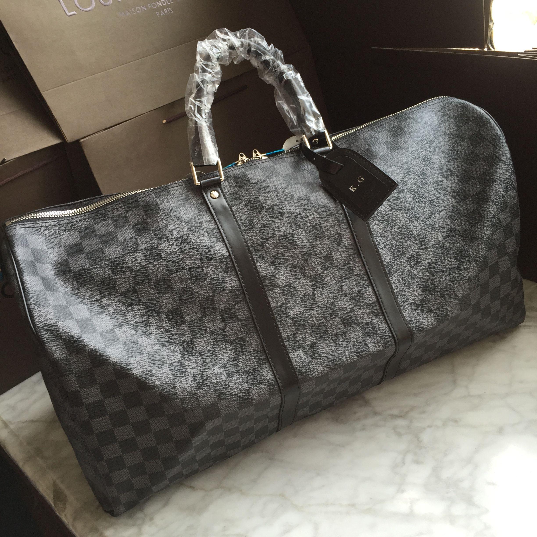 Verrassend Louis Vuitton Lv travel luggage bag 55cm keepall | Masculine Bags BX-02