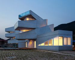 AND aggrenad hotel, south korea Commercial architecture