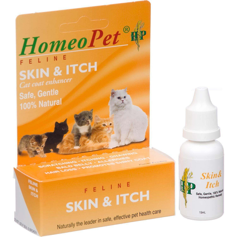 Homeocat Feline Skin and Itch Natual Cat Coat Enhancer