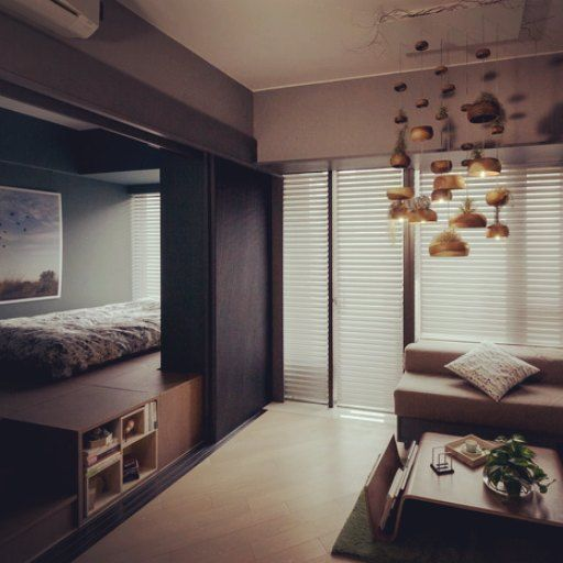 Home Design Ideas Hong Kong: Million Dollar Small Apartment In Hong Kong #homedecor