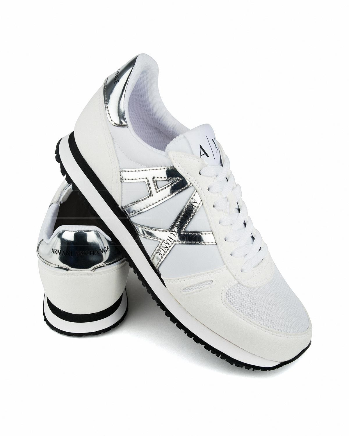 timeless design 4ec68 dbc29 ARMANI EXCHANGE © Mens Shoes ✶ White  BEST PRICE