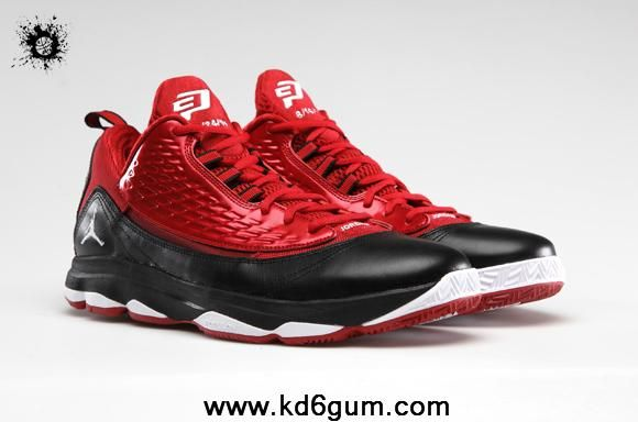Fashion Gym Red White-Black Jordan CP3.VI AE 580580-601