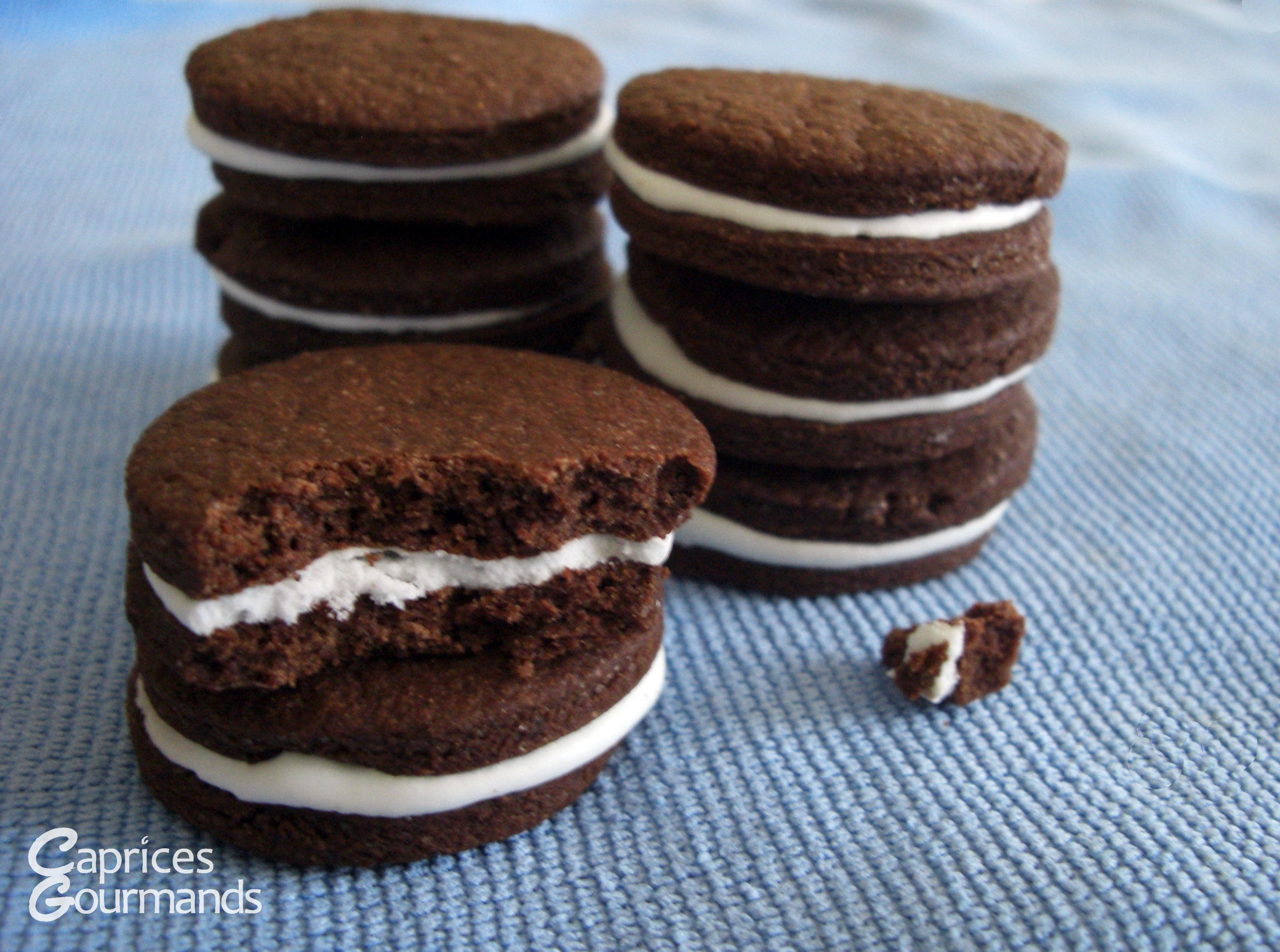 Biscuits choco-menthe