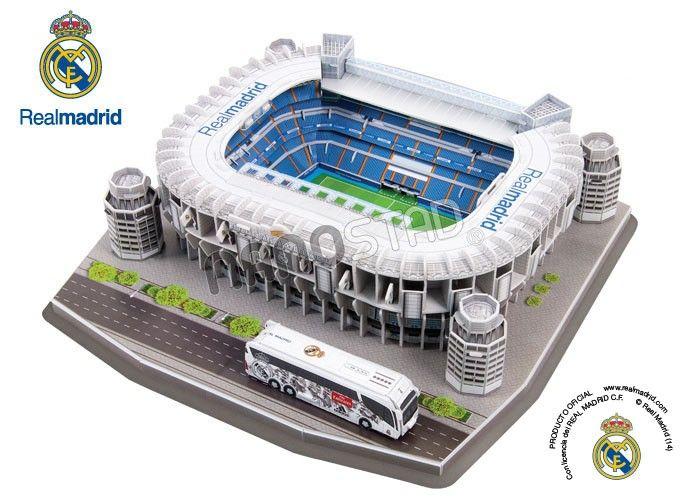 Maqueta Real Madrid Stadium