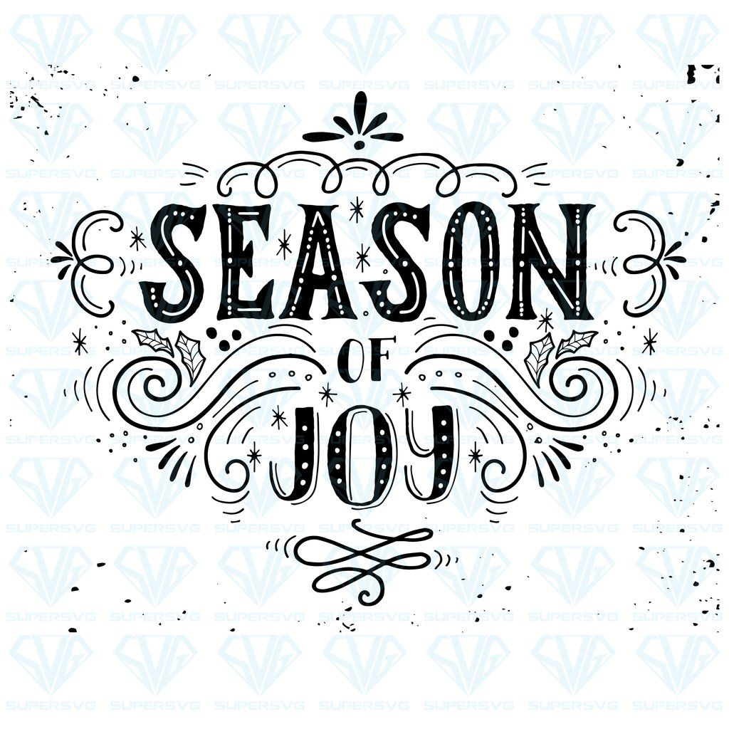 Download Season Joy Christmas SVG Files For Silhouette, Files For ...