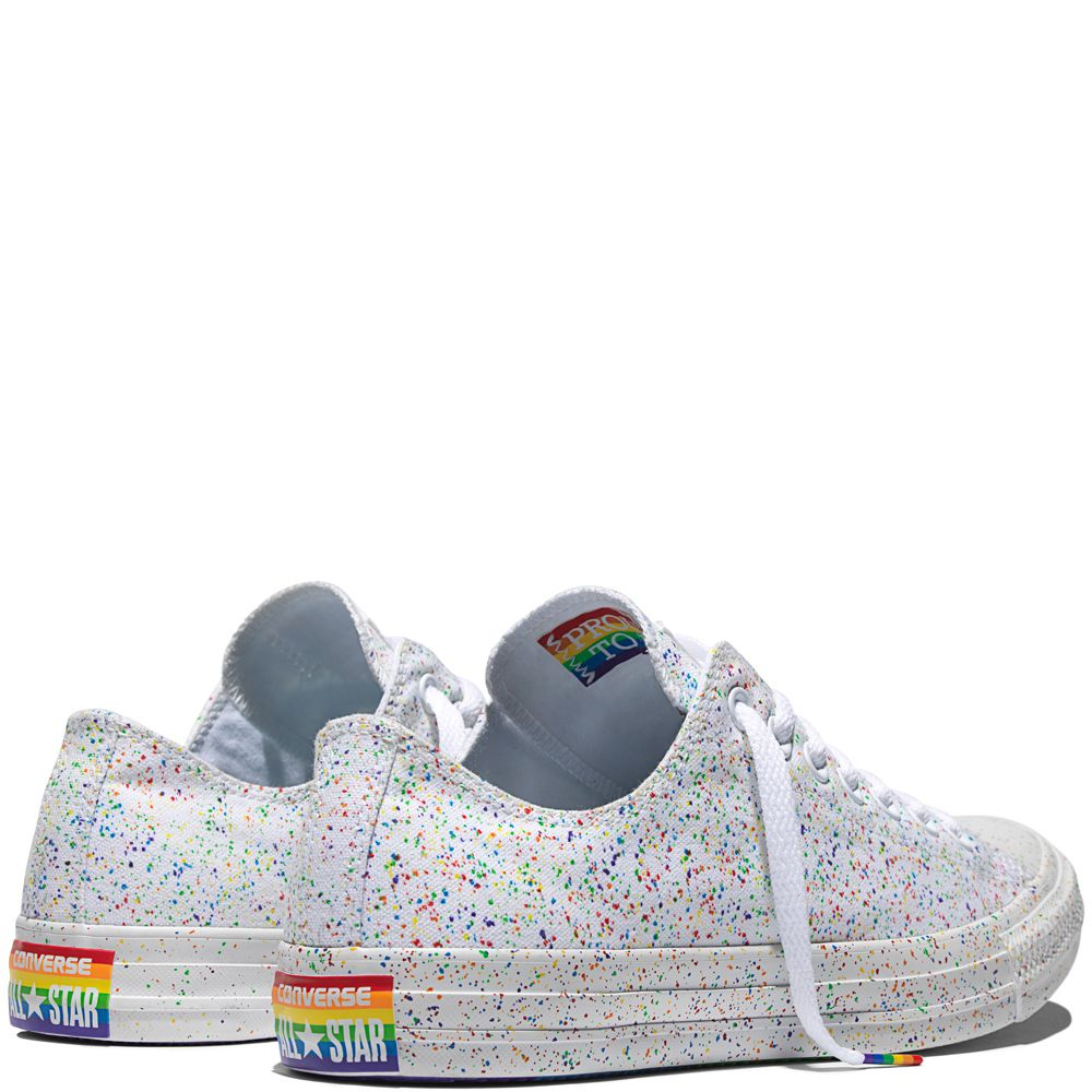 438231bab5df Chuck Taylor All Star Pride White