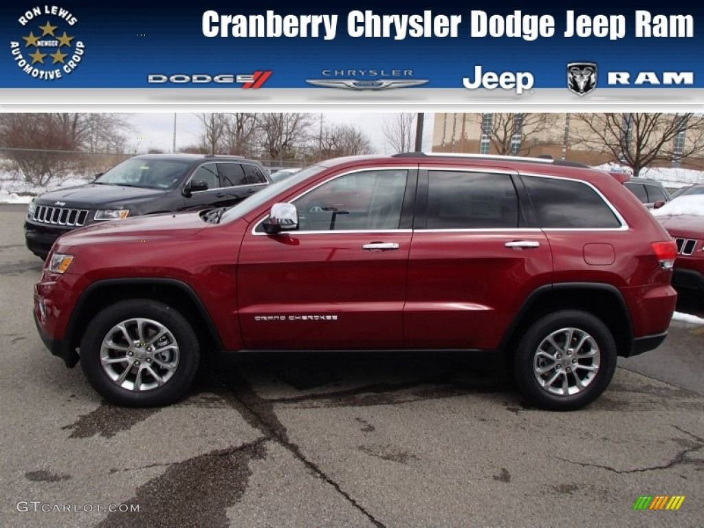 2014 Jeep Grand Cherokee Limited   2014 Jeep Grand Cherokee Limited 4x4    Deep Cherry Red