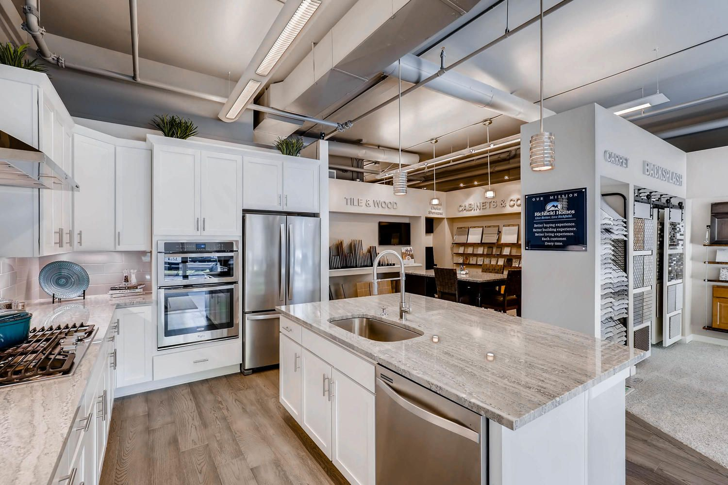 Richfield Homes Recently Opened Their New Design Studio Located In Longmont Co The Design Studio Allows Homebuyers To Personalize Th Home Design Rich Living