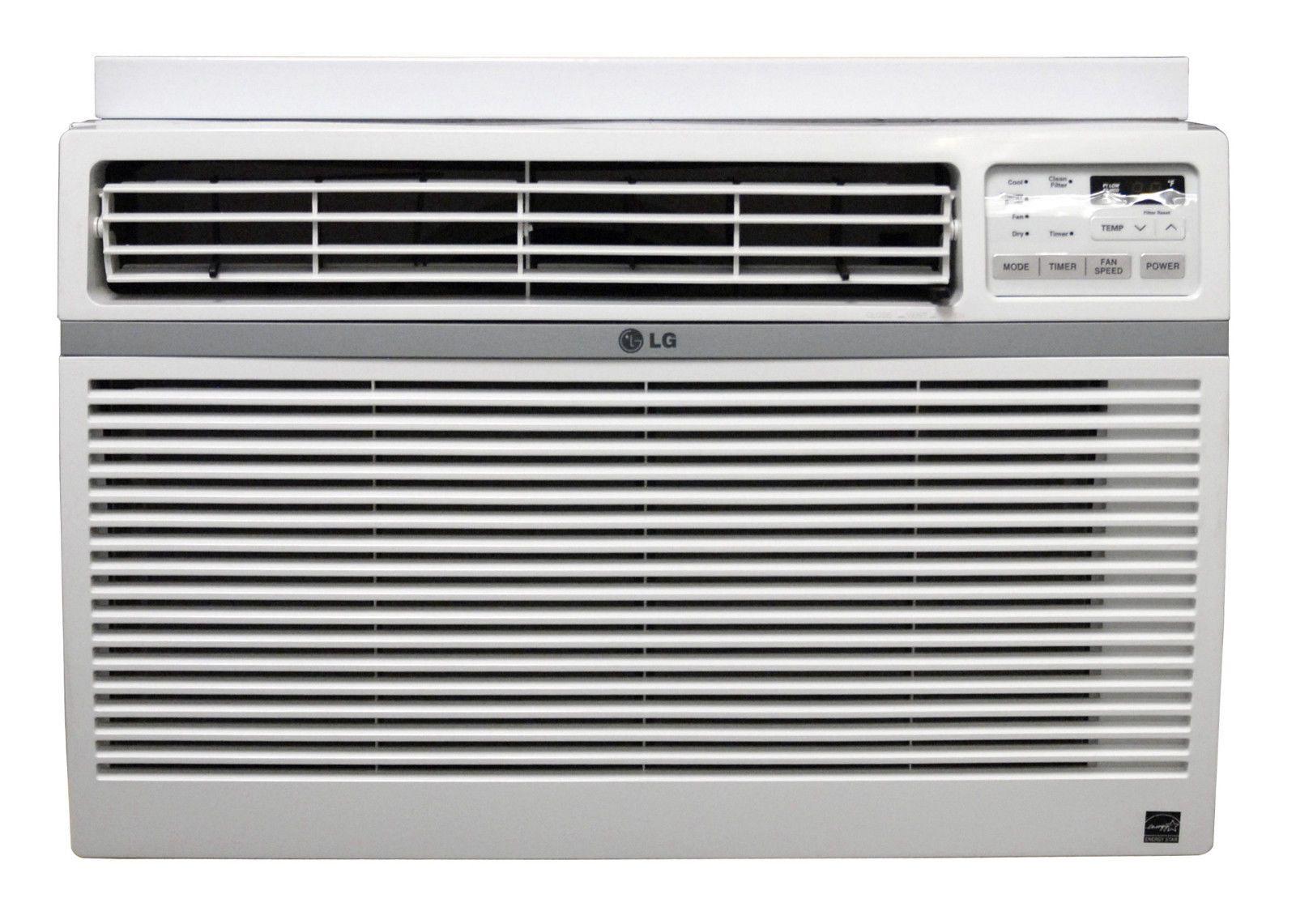 Lg Lw1814er 18000 Btu 220v Window A C Remote Window Accessories Included Window Accessories Window Air Conditioner Windows