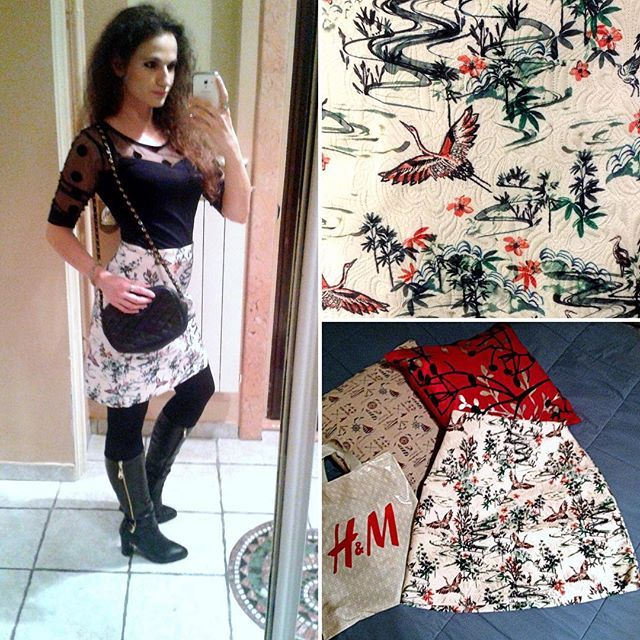 #skirt #h&m #blackandwhite #blackandgold #brunettes #concert #Belgrade #shopping #fashion #peculiark8