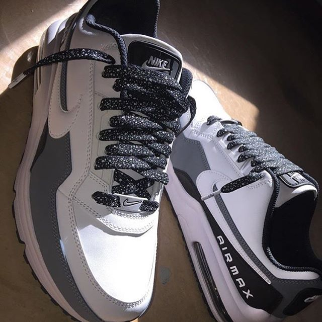 54bed0f5441d Nike Air Max LTD 3 x Laced Up Black Cement Laces  bimm r bimm