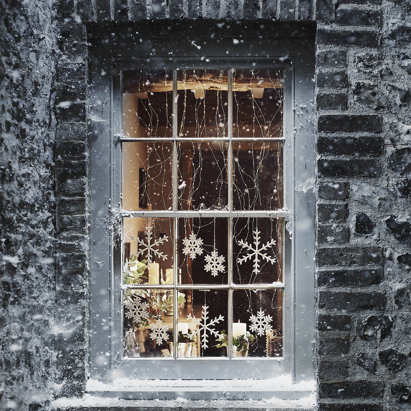 Cascading Fairy Lights 300 Bulbs The White Company Uk Christmas Window Christmas Lights Christmas Aesthetic