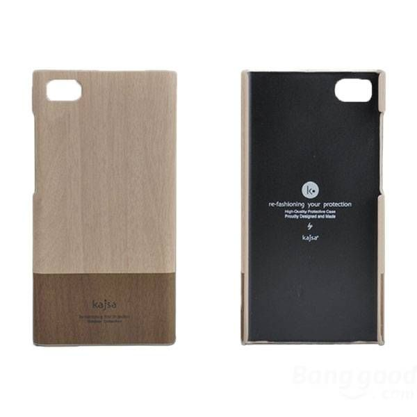Kajsa Fashion Wood Grain Back Case Cover For Xiaomi Mi3 Cases
