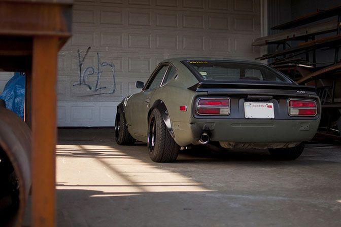 Guest Blog: Zach Zupancic>>volvo-powered 240z On A Budget