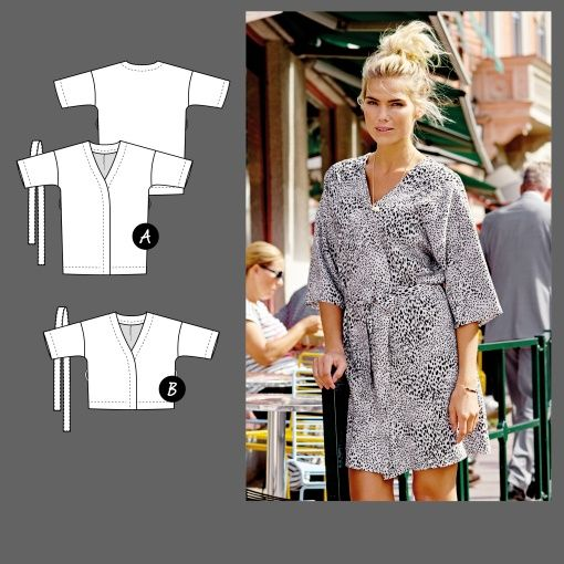 Kimono - Stoff & Stil | sewing patterns & ideas | Pinterest | Stoff ...