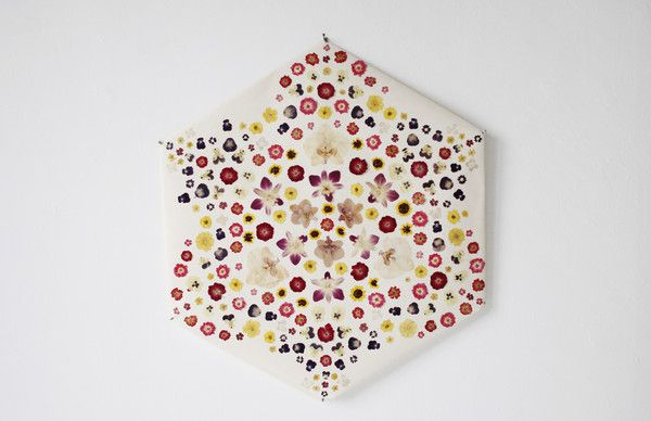 Floralia - Rose Window Kite - could work in the living room with the Missoni couch framed in an acrylic shadow box