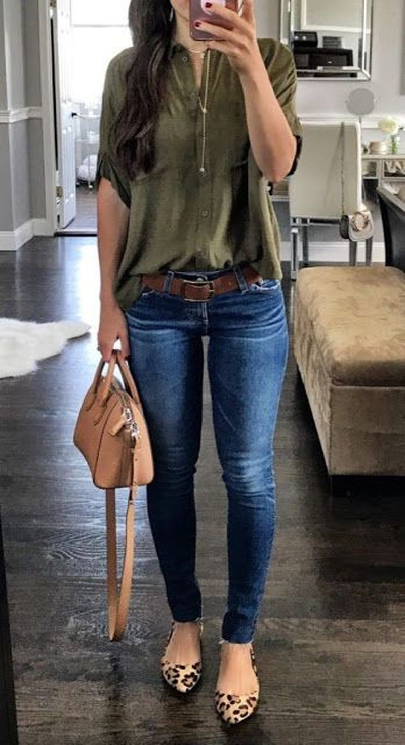35 Best Casual Spring Outfits For Women To Look Cute Spring Outfits Casual Casual Work Outfits Summer Work Outfits