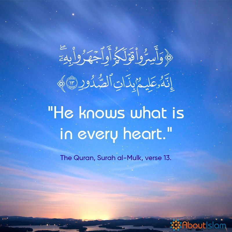 He Knows What Is In Every Heart Islamic Inspirational Quotes Muslim Quotes Quran Verses