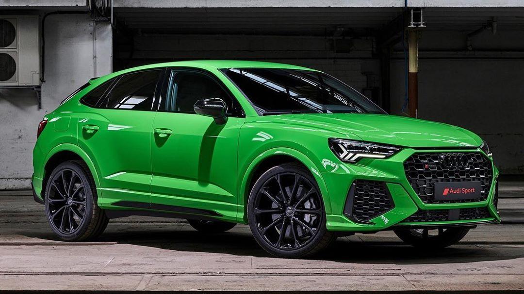 Chulada Que Acaba De Presentarnos Audi De Mexico No No Es Hulk Es Un Rs Q3 Sportback Que No Solo Luce Increible Tambien Porta Un Pod Audi Rsq3 Audi Audi Rs