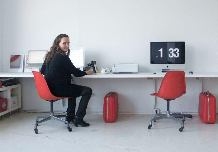 creative desks: Tina Roth Eisenberg