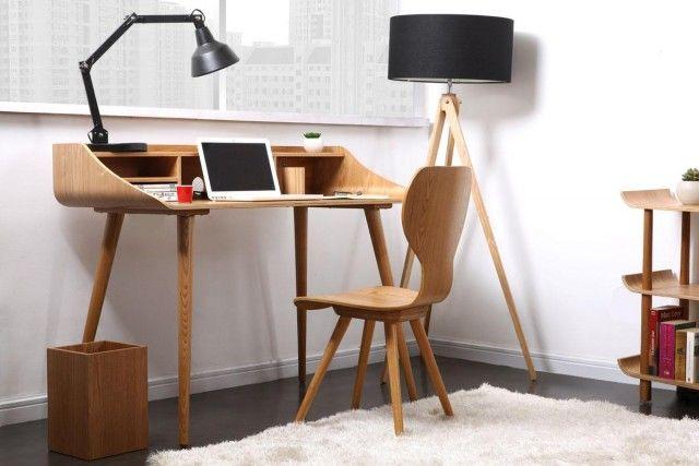 Petit bureau design style scandinave bricolage maison et d coration