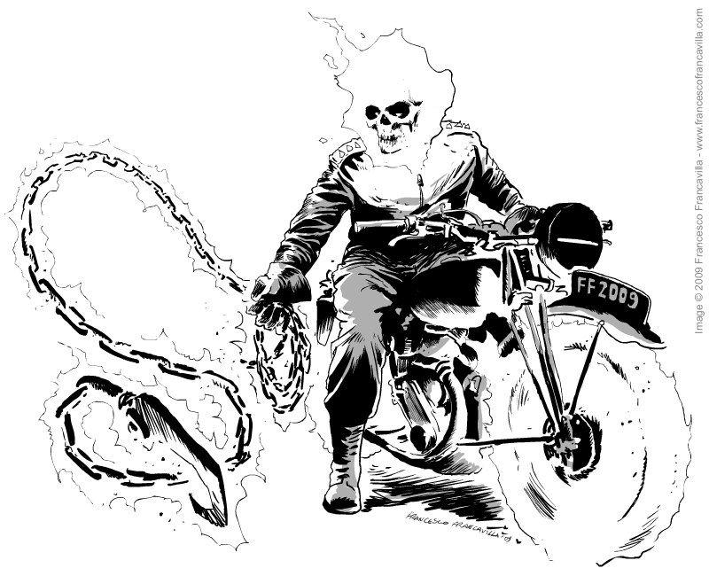 Ghost Rider Ghost Rider Ghost Rider Ghost Rider Bike Comics
