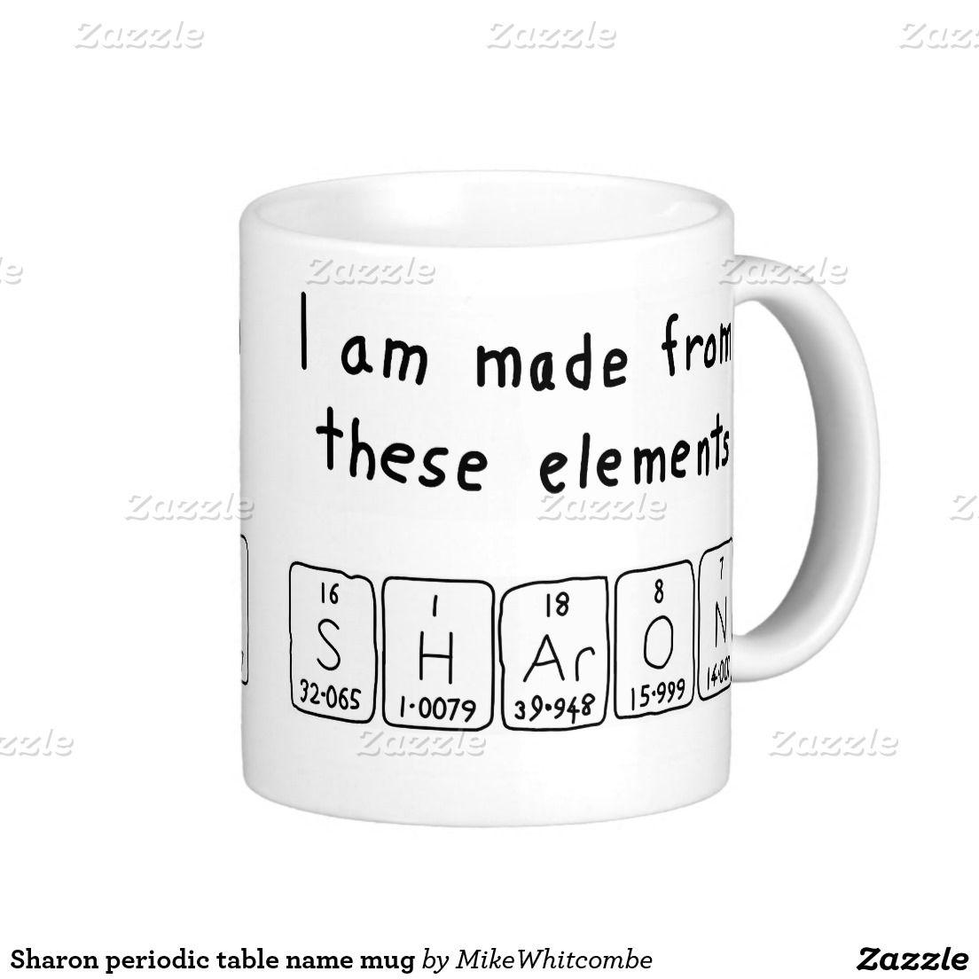 Sharon periodic table name mug periodic table sharon periodic table name mug urtaz Image collections